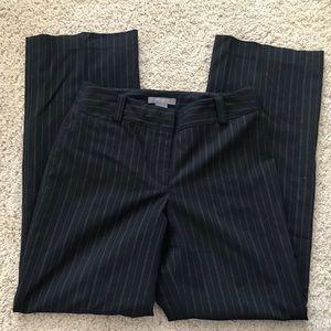 Ann Taylor Petite Striped Pants 2P
